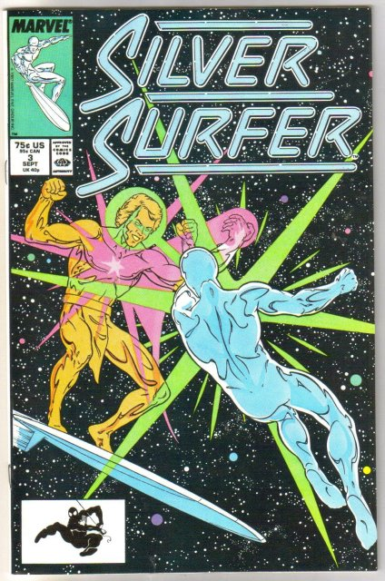 Silver Surfer volume 3 #3 comic book mint 9.8