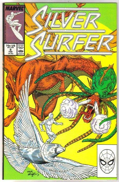 Silver Surfer volume 3 #8 comic book mint 9.8