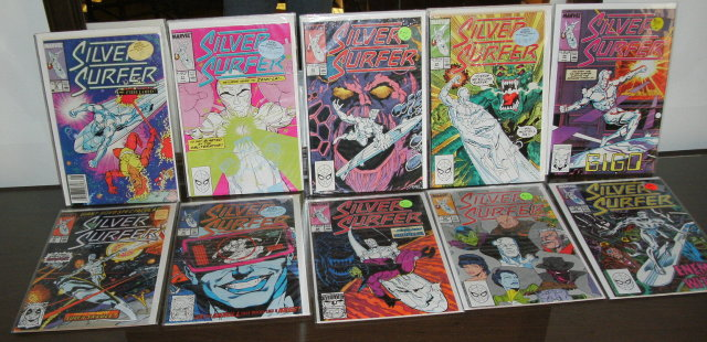 Silver Surffer volume 3 comic book collection of 10 near mint and better