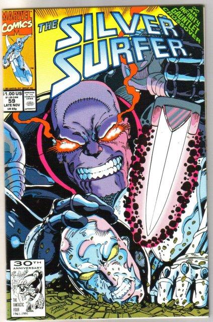 Silver Surfer volume 3 #59 comic book near mint 9.4