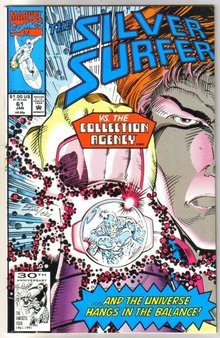Silver Surfer volume 3 #61 comic book near mint 9.4