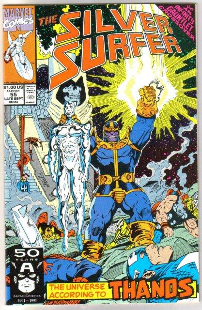 Silver Surfer volume 3 #55 comic book mint 9.8