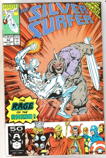 Silver Surfer volume 3 #54 comic book mint 9.8