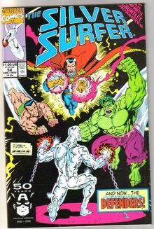 Silver Surfer volume 3 #58 comic book mint 9.8