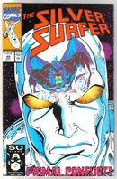 Silver Surfer volume 3 #49 comic book near mint 9.4