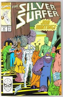 Silver Surfer volume 3 #41 comic book near mint 9.4