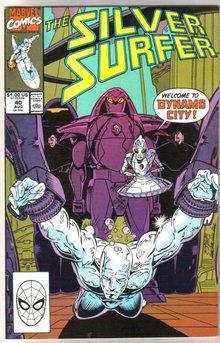 Silver Surfer volume 3 #40 comic book near mint 9.4