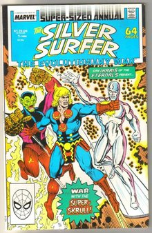 Silver Surfer volume 3 annual #1 comic book mint 9.8