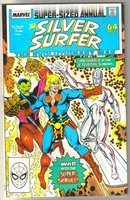 Silver Surfer volume 3 annual #1 comic book mint 9.8