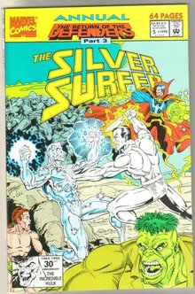 Silver Surfer volume 3 annual #5 comic book mint 9.8