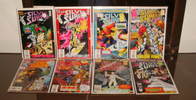 Silver Surfer volume 3 8 issue comic book collection mostly mint
