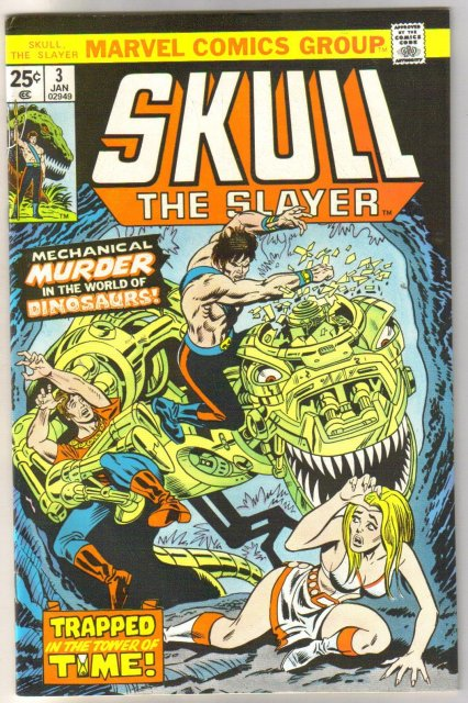 Skull the Slayer #3 comic book very fine/near mint 9.0