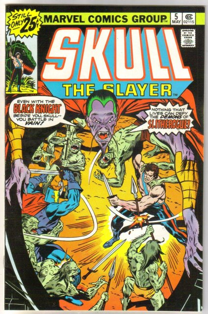 Skull the Slayer #5 comic book very fine/near mint 9.0