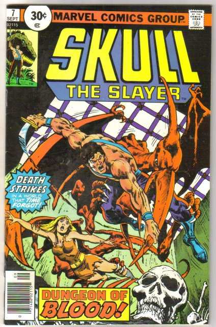 Skull the Slayer #7 comic book very fine/near mint 9.0