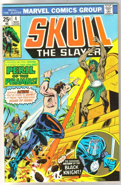 Skull the Slayer #4 comic book mint 9.8