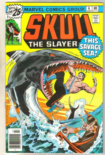 Skull the Slayer #6 comic book mint 9.8