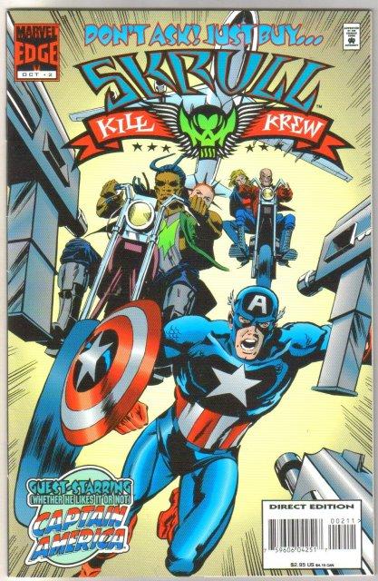 Skrull Kill Krew #2 comic book near mint 9.4