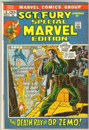 Special Marvel Edition #6 starring Sgt. Fury comic book very good/fine 5.0