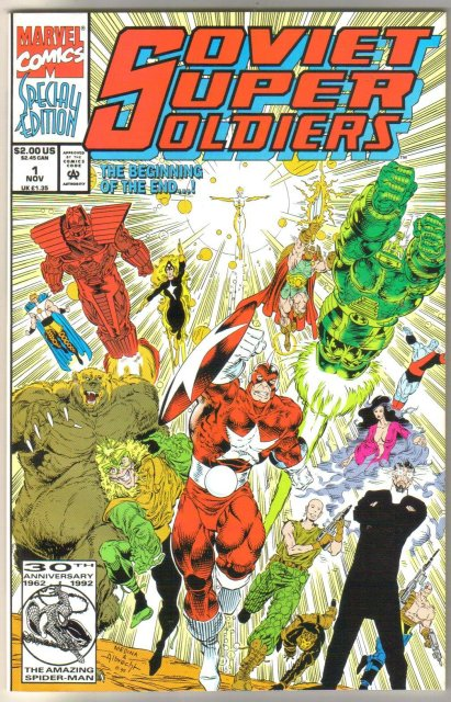 Soviet Super Soldier #1 comic book mint 9.8
