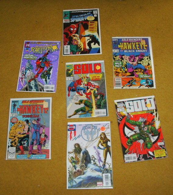 Miscellaneous collection of 7 Marvel comic books near mint or better