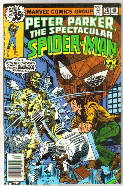 Peter Parker, the Spectacular Spider-man #28 comic book fine/very fine 7.0
