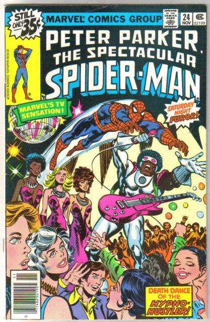Peter Parker, the Spectacular Spider-man #24 comic book fine/very fine 7.0
