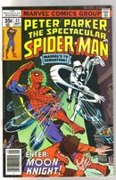 Peter Parker, the Spectacular Spider-man #22 comic book fine/very fine 7.0