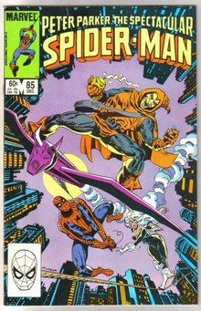 Peter Parker, the Spectacular Spider-man #85 comic book near miont 9.4
