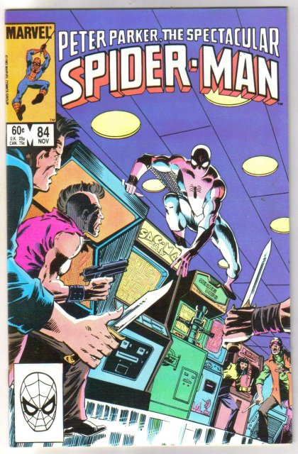 Peter Parker, the Spectacular Spider-man #84 comic book near miont 9.4