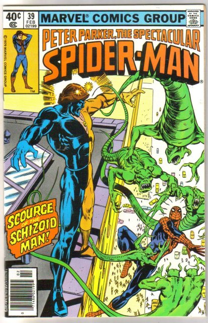 Peter Parker, the Spectacular Spider-man #39 comic book  miont 9.8