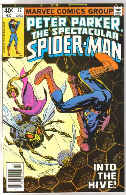 Peter Parker, the Spectacular Spider-man #37 comic book  miont 9.8