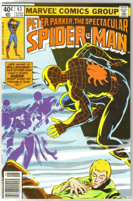 Peter Parker, the Spectacular Spider-man #43 comic book  miont 9.8
