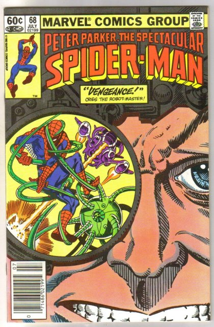 Peter Parker, the Spectacular Spider-man #68 comic book  miont 9.8