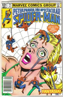 Peter Parker, the Spectacular Spider-man #74 comic book  miont 9.8