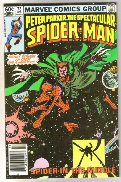Peter Parker, the Spectacular Spider-man #73 comic book  miont 9.8