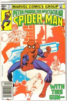 Peter Parker, the Spectacular Spider-man #71 comic book  miont 9.8