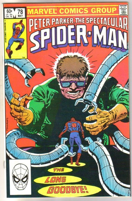 Peter Parker, the Spectacular Spider-man #78 comic book  miont 9.8