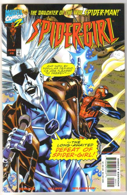 Spider-girl #9 comic book near mint 9.4