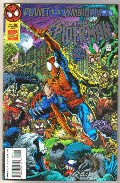 Spectacular Spider-man Super Special #1 comic book mint 9.8