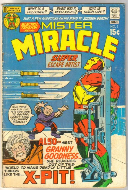 Mister Miracle #2 comic book very good 4.0