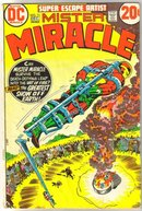 Mister Miracle #11 comic book very good 4.0