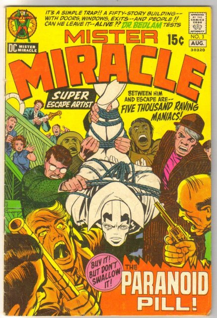 Mister Miracle #3 comic book very good/fine 5.0