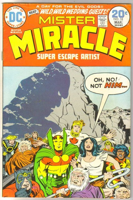 Mister Miracle #18 comic book fine 6.0