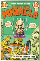 Mister Miracle #10 comic book fine 6.0