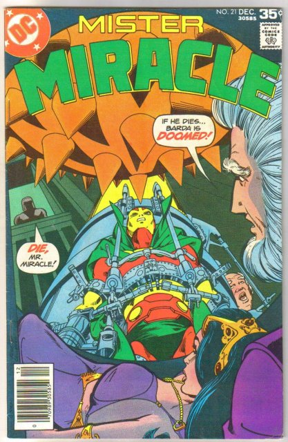 Mister Miracle #21 comic book fine 6.0
