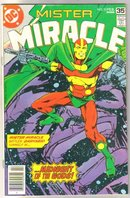 Mister Miracle #22 comic book fine/very fine 7.0