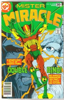 Mister Miracle #24 comic book very fine 8.0