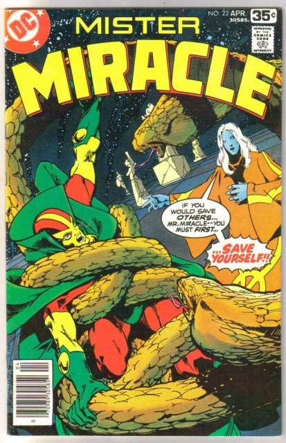 Mister Miracle #23 comic book very fine 8.0