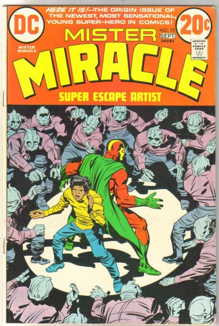 Mister Miracle #15 comic book very fine 8.0