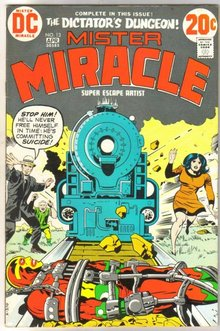 Mister Miracle #13 comic book very fine 8.0